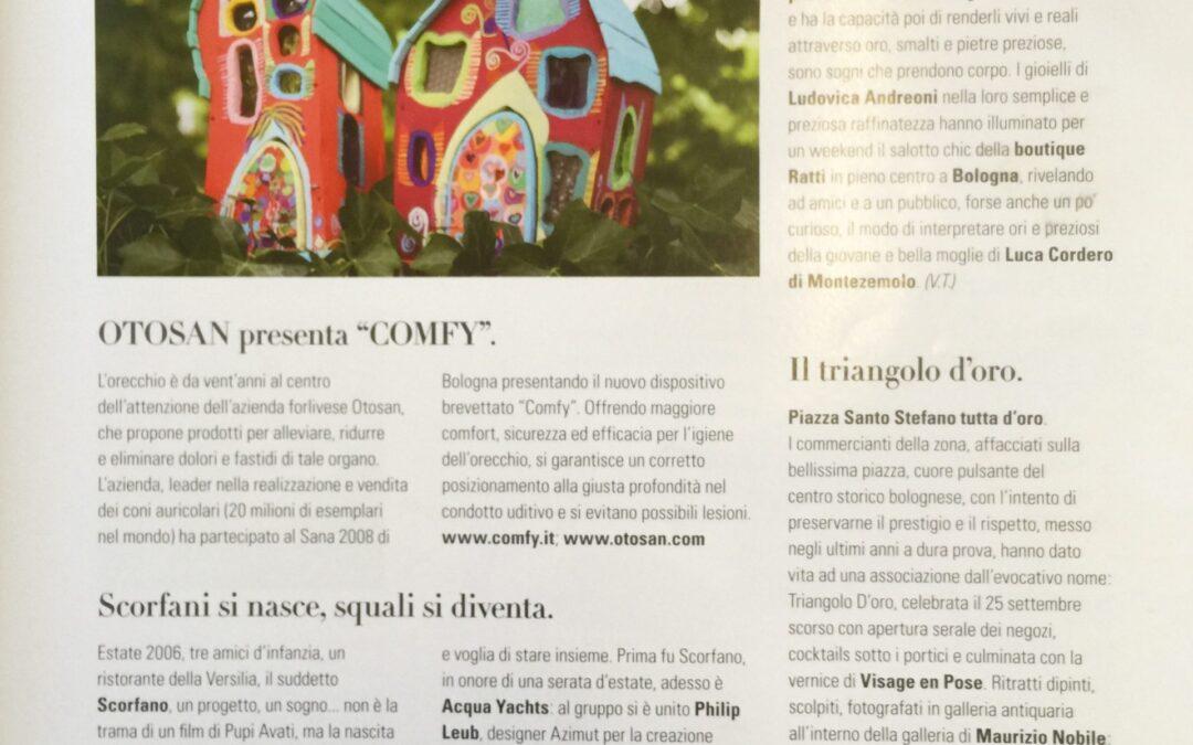 In magazine Premium , marzo 2008