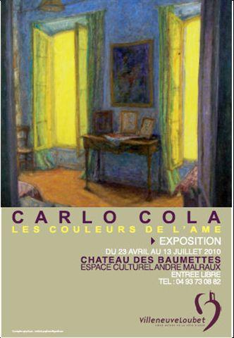 Communiqué Carlo Cola